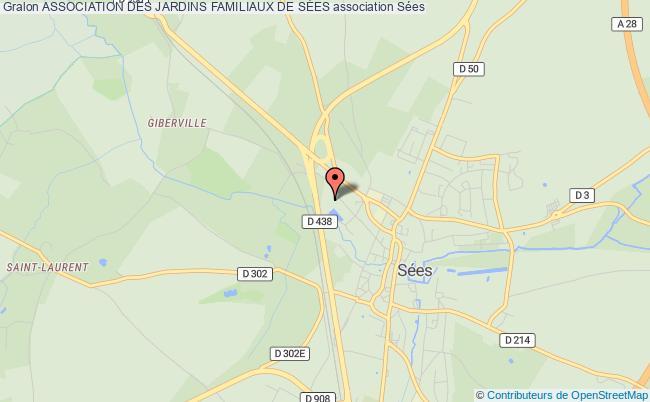 plan association Societe Des Jardins Ouvriers Et Familiaux De Sees