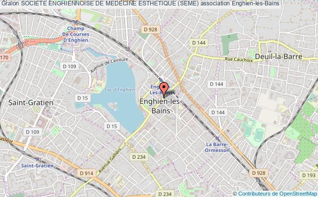 plan association Societe Enghiennoise De Medecine Esthetique (seme)