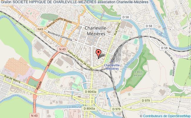 plan association Societe Hippique De Charleville-mezieres