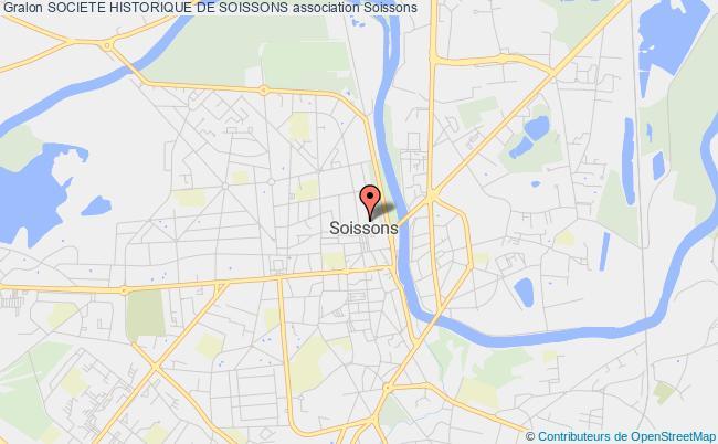 plan association Societe Historique De Soissons Soissons