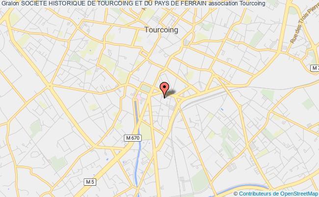 plan association Societe Historique De Tourcoing Et Du Pays De Ferrain