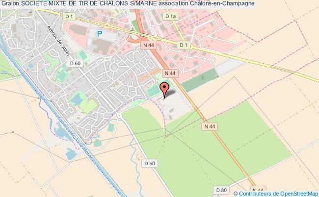 plan association Societe Mixte De Tir De Chalons S/marne