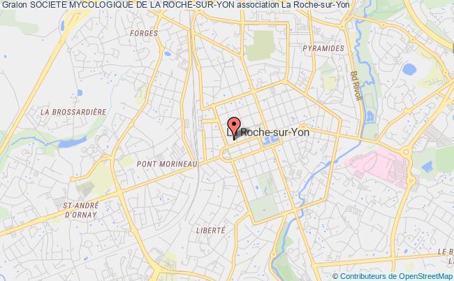 plan association Societe Mycologique De La Roche-sur-yon La    Roche-sur-Yon