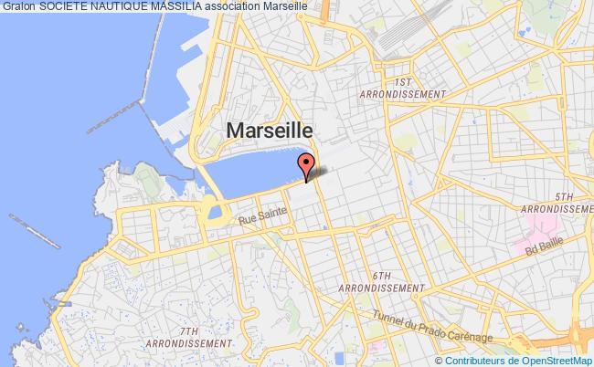 plan association Societe Nautique Massilia