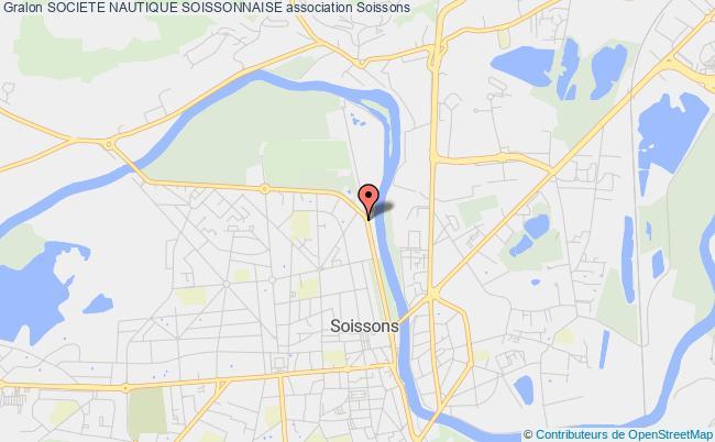 plan association Societe Nautique Soissonnaise Soissons