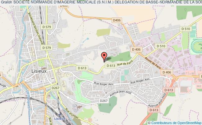 plan association Societe Normande D'imagerie Medicale (s.n.i.m.) Delegation De Basse-normandie De La Societe Francaise De Radiologie Et D'imagerie Medicale (s.f.r.)