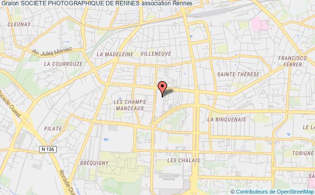 plan association Societe Photographique De Rennes