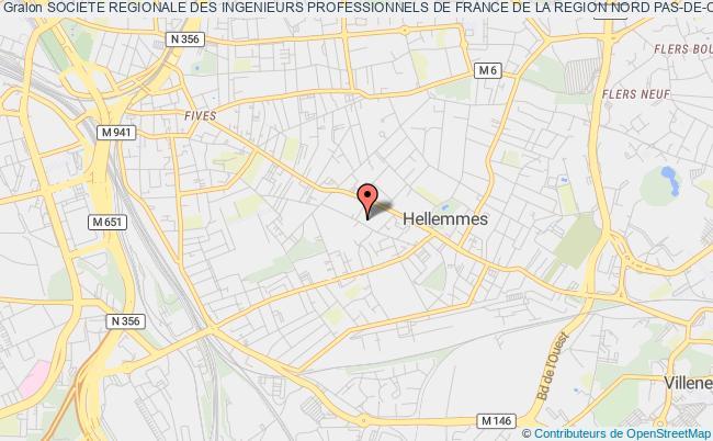 plan association Societe Regionale Des Ingenieurs Professionnels De France De La Region Nord Pas-de-calais Picardie Ardennes (sripf N°2)