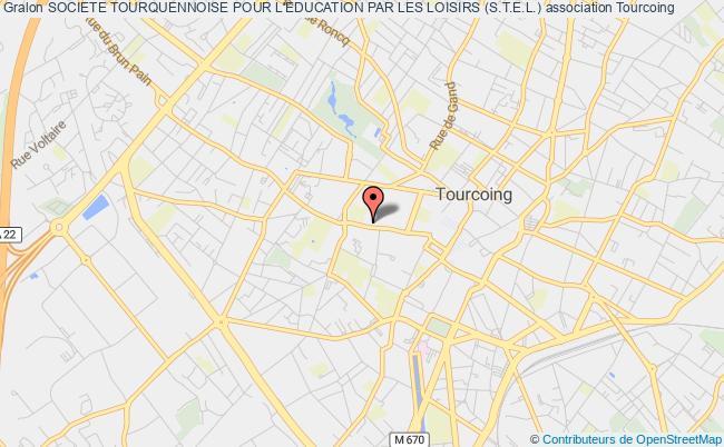 plan association Societe Tourquennoise Pour L'education Par Les Loisirs (s.t.e.l.)