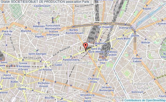 plan association Societies/objet De Production