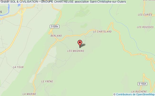 plan association Sol & Civilisation - Groupe Chartreuse