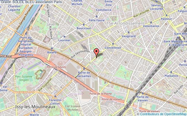 plan association Soleil Bleu Paris 15e