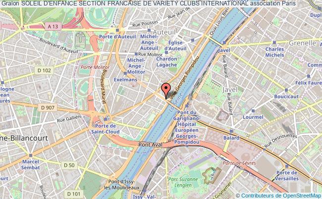 plan association Soleil D'enfance Section Francaise De Variety Clubs International