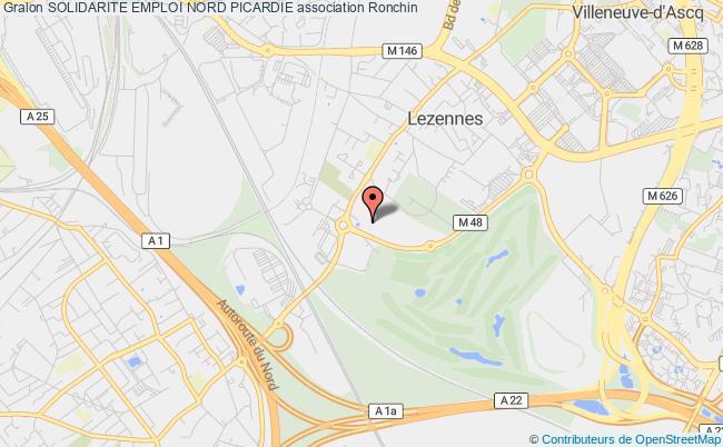 plan association Solidarite Emploi Nord Picardie Ronchin