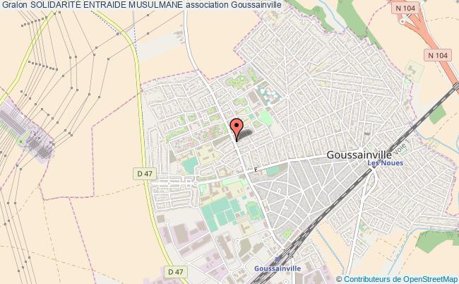 plan association SolidaritÉ Entraide Musulmane Goussainville
