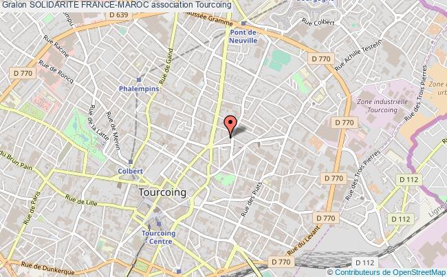 plan association Solidarite France-maroc Tourcoing