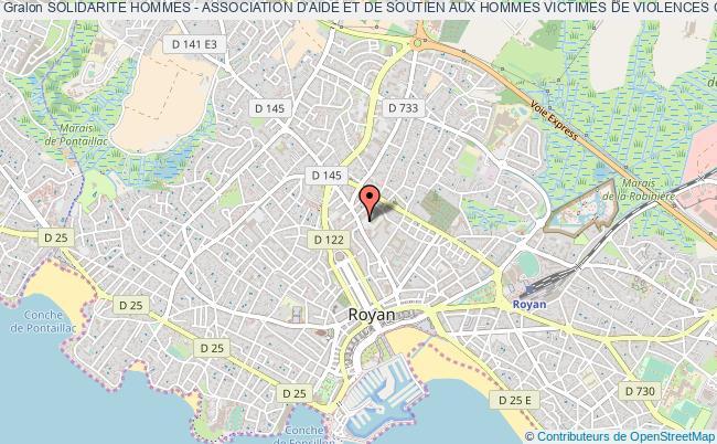 plan association Solidarite Hommes - Association D'aide Et De Soutien Aux Hommes Victimes De Violences Conjugales Royan