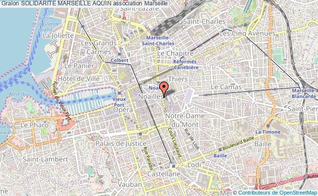 plan association Solidarite Marseille Aquin