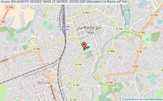 plan association Solidarite Vendee Dans Le Monde (sovelem) La Roche-sur-Yon