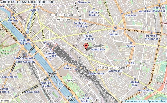 plan association Solilesses Paris