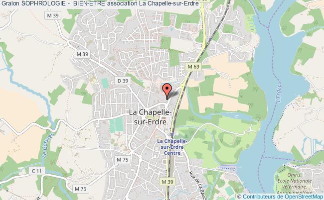 plan association Sophrologie -  Bien-etre La    Chapelle-sur-Erdre