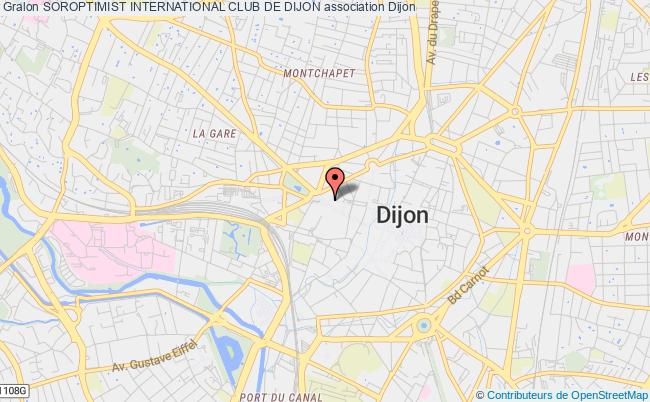 plan association Soroptimist International Club De Dijon