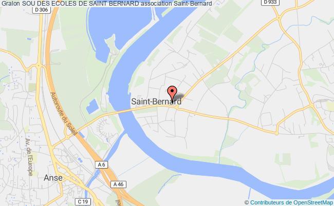 plan association Sou Des Ecoles De Saint Bernard Saint-Bernard