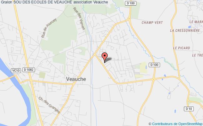 plan association Sou Des Ecoles De Veauche Veauche