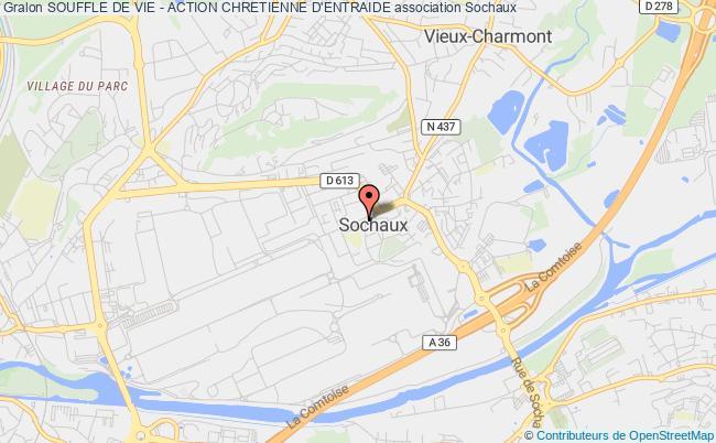 plan association Souffle De Vie - Action Chretienne D'entraide