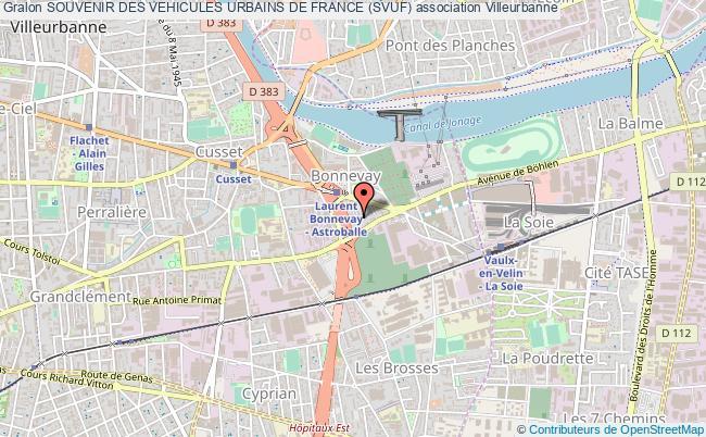 plan association Souvenir Des Vehicules Urbains De France (svuf)