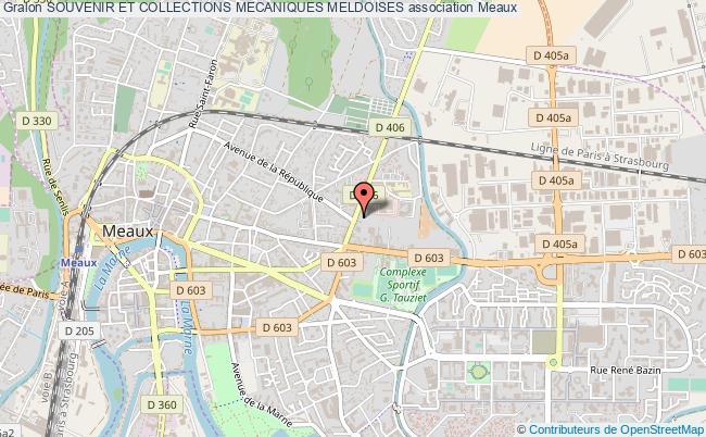 plan association Souvenir Et Collections Mecaniques Meldoises