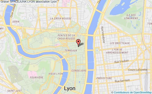 plan association Spacejunk Lyon Lyon