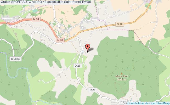 plan association Sport Auto Video 43 Saint-Pierre-Eynac