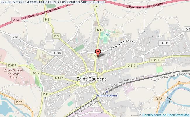 plan association Sport Communication 31 Saint-Gaudens