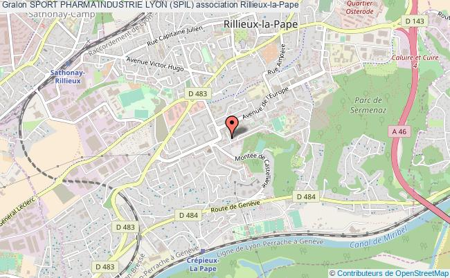 plan association Sport Pharma Industrie Lyon (spil)