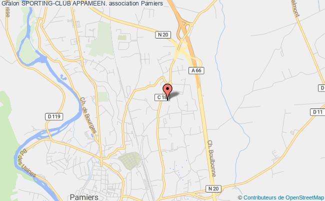 plan association Sporting-club Appameen.