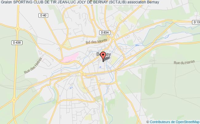 plan association Sporting Club De Tir De Bernay