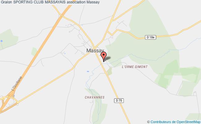 plan association Sporting Club Massayais Massay
