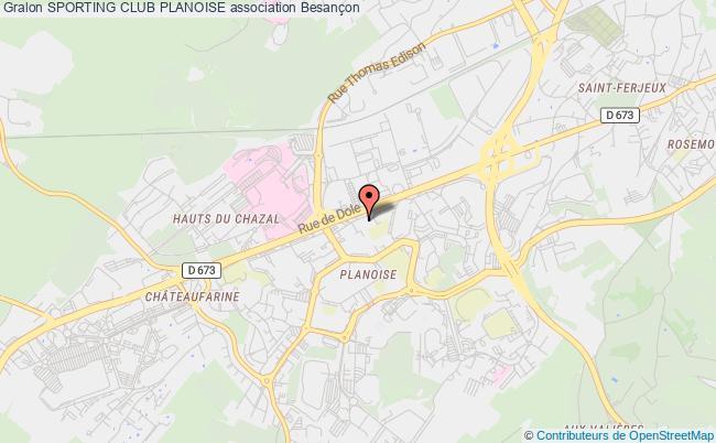 plan association Sporting Club Planoise