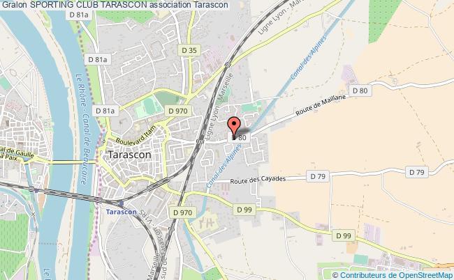 plan association Sporting Club Tarascon