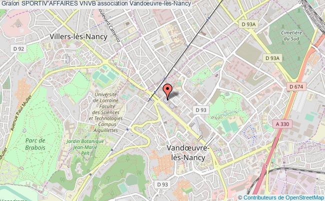 plan association Sportiv'affaires Vnvb