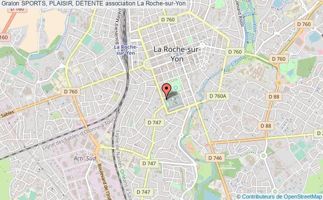 plan association Sports, Plaisir, DÉtente La Roche-sur-Yon