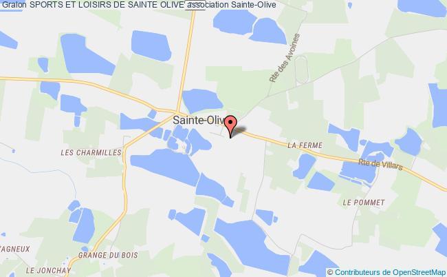 plan association Sports Et Loisirs De Sainte Olive