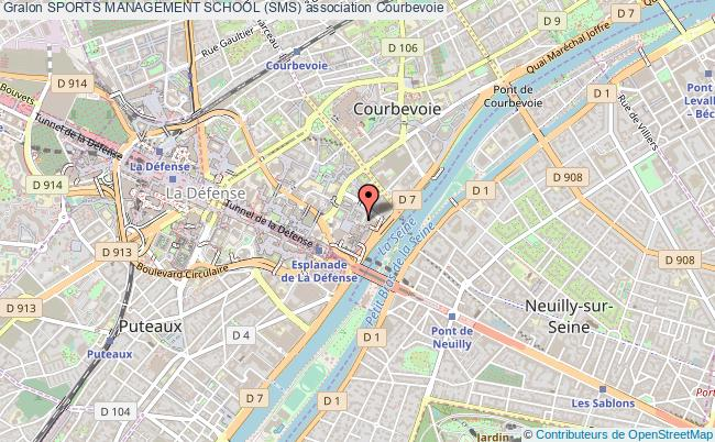 plan association Sports Management School (sms) Courbevoie