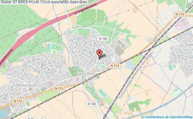 plan association St Bres Pour Tous