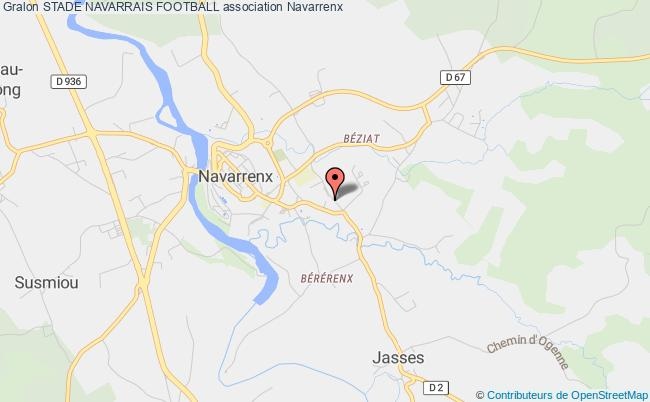 plan association Stade Navarrais Football