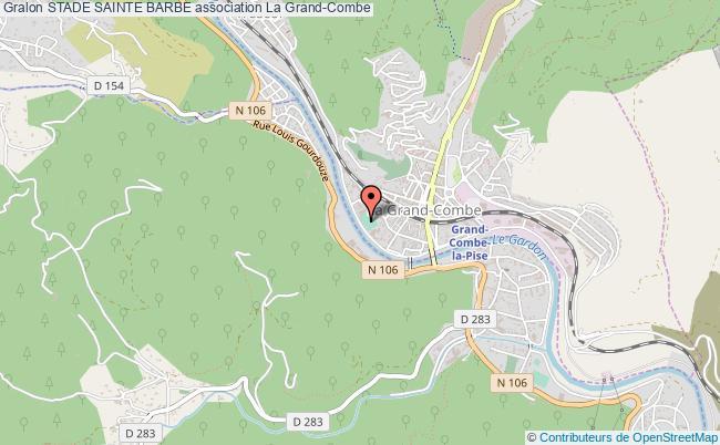 plan association Stade Sainte Barbe