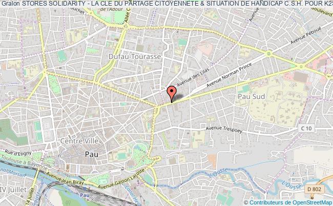 plan association Stores Solidarity - La Cle Du Partage Citoyennete & Situation De Handicap C.s.h. Pour K2sc - Diffusion Production