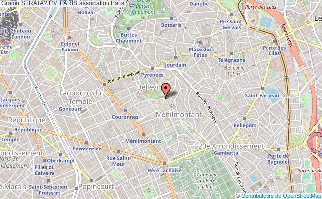 plan association Strata?j?m Paris