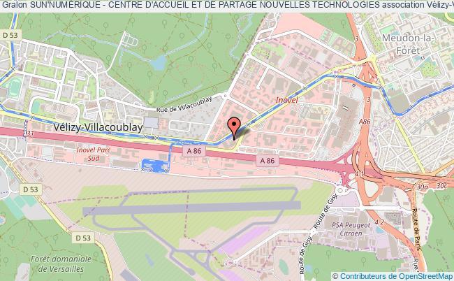plan association Sun'numÉrique - Centre D'accueil Et De Partage Nouvelles Technologies